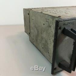Rare Altec Lansing 9440a Pro Amplificateur De Puissance De Montage En Rack Pour La Restauration Stéréo