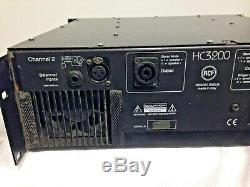Rcf Haute Hc3200 Série Professionelles Amplificateur Stéréo