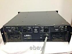 Rcf Hc3200 Amplificateur Stéréo Professionnel De Série Haute Actuelle