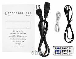 Récepteur Amplificateur Pro Rx45bt Hybride Pro Technique Technique Avec Bluetooth Usb/sd+remote
