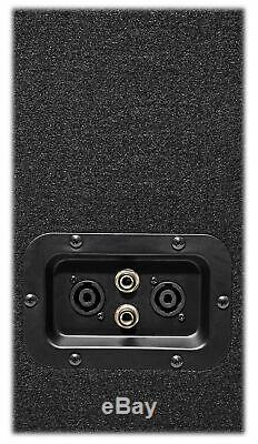 Rockville Pbg18 Subwoofer Sub + Amplificateur De Puissance 18 2000 Watts 8 Ohm Pro Dj