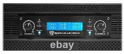 Rockville Rpa16 10 000 Watt 2 Amplificateur De Puissance De Canal Pro/dj Amp+speakon Câbles