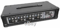Rockville Rpm45 2400w Powered 4-channel Mixer Pro Amplificateur Mixing, Fx, Phantom