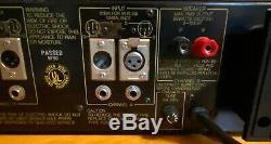 Série Professionnelle Yamaha P2100 Natural Sound Power Amplifier