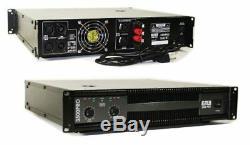 Signal Professionnel D'amplificateur De Puissance De La Pa Karoke De La Manche 2 3500w Dj Emb Eb3500