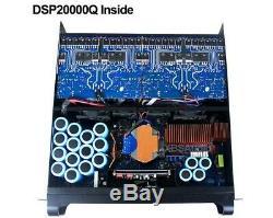 Sinbosen Dsp20q Amplificateur De Puissance 4 Chan 4kw Pro Avec Séparateur De Signal Dsp - Royaume-uni Stock