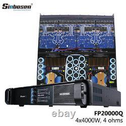 Sinbosen Fp20000q Amplificateur De Puissance 4 Ch Pro 4000 Watts Rms Par Canal. 110 Volts