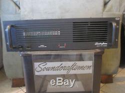 Soundcraftsmen Amplificateur De Puissance Professionnel 450x2m Entièrement Équipés