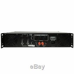 Stéréo D'amplificateur De Puissance Dj D'amplificateur Dj De Puissance 2 Canaux Gemini Pro Gpa-2500