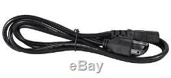Technical Pro Ax5000 Amplificateur De Puissance Dj 2u 2 Canaux 5000 W Avec Usb, Sd, Eq