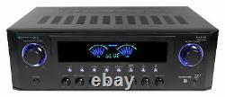 Technical Pro Rx45bt Home Theater Recepteur Bluetooth Usb + Dual 31 Band Equalizer