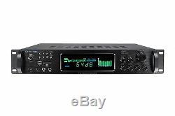 Technique Pro H1502urbt Pro 1500w Amplificateur Numérique / Préampli / Tuner / Bluetooth