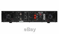 Technique Pro Lz10k Pro 10,000w 2 Canaux Amplificateur Withlcd Affichage + Verrouillage Des Touches + Casque