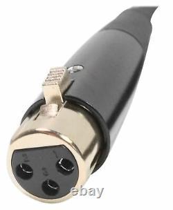 Technique Pro Power65 6500w 2 Channel 2u Power Amp Amp Amplificateur + Câble Xlr