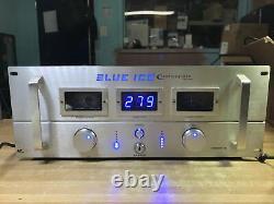 Technique Xz-s5000 Pro 5000w Bleu Ice Dj Amplificateur De Puissance Essais De Travail