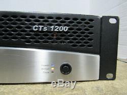 Testé Crown Cts 1200 Deux Canaux Amplificateur De Puissance Par Canal Professionnel 600w