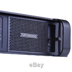 Tip10000q 4x1350w Amplificateur De Subwoofer Line Array Poweramp Pro Pa Dj Tulun Play