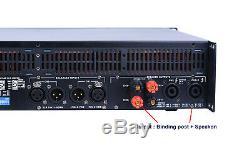 Tip14000 2x2350w Amplificateur De Puissance Professionnel Caisson De Basses Poweramp Sono Dj Prokustk