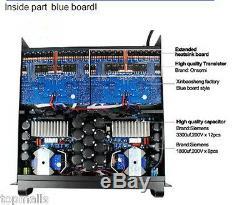 Vente Chaude Haute Puissance 20,000q Scène Stéréo Professionnel Amplificateur De Puissance 2200w4 Ch