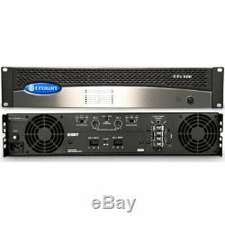 Véritable Couronne Cts600 2 Channel Amplificateur De Puissance Professionnel Rackable