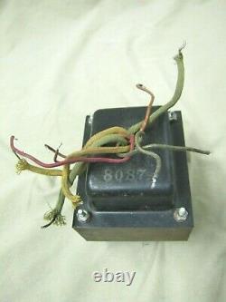 Vintage 1955-60 Fender Tweed Bassman Pro Super Amplificateur 8087 Power Transformer