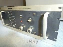 Vintage 500 Watt Bose 1800 Professional Stereo Amp Amplificateur De Ramassage Danvers Ma