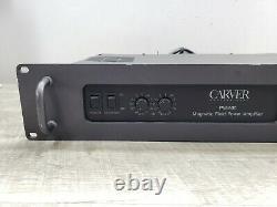 Vintage Carver Pm-900 Amplificateur Professionnel Permet D'augmenter Les Pièces/repair