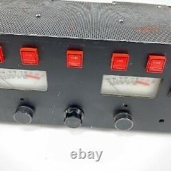 Vintage Cerwin Vega A-3000 Stereo Professional Power Amplificateur Testé Et De Travail