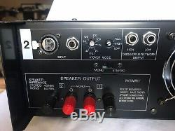 Vintage N. I. H. Labs Professionnel Amplificateur De Puissance Pa700 Mono / Stereo Made In Japan
