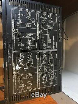 Vintage Peavey Cs-800 Amplificateur De Puissance Professionnel Amp