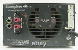 Vintage Soundcraftsmen Modèle Pm860 Amplificateur Stéréo Pro 300 Watt @ 4 Mosfet Amp