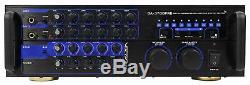 Vocopro Da-3700 Pro Amplificateur Mélangeur Karaoké De 240 Watts Avec Écho Numérique