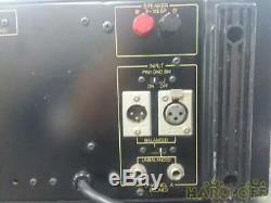 Yamaha Amplificateur Pc2002m Power Amp Professional Testé Travail Utilisé