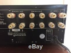 Yamaha M-80 Amplificateur Réformé Puissance 250 Watts Surclassées Avec Reliure Pro Messages
