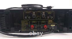Yamaha P2350 Série Professionnelle 2 Ch Amplificateur De Puissance Stéréo Testé Et Travail