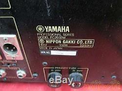 Yamaha Pc2002m Amplificateur De Puissance Professionnel Amp Serviced Testé Travail Utilisé