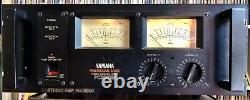Yamaha Pc2002m Série Professionnelle Amplificateur De Puissance Pro Studio 700w Amp Testé