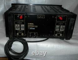 Yamaha Power Amplifier Modèle Pc2002m Professional Series Vintage Rare Rsmi