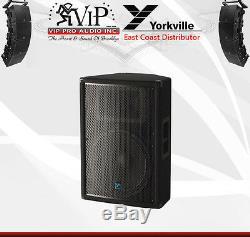 Yorkville Yx15pc Enceinte Active Amplifiée À 2 Voies 15 Pour Dj / Club, Classe D